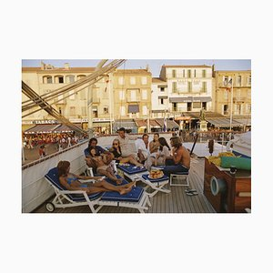 Saint Tropez, 1971, Slim Aarons