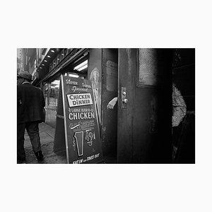 Sandwich Board in Street, Fotografie, 1989