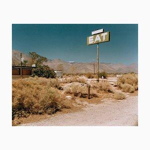 Sign by Empty Footpath, Michael Ormerod, 1989