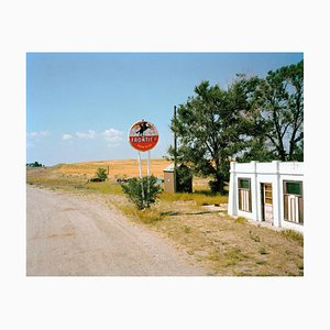 Roadsign and Field, Michael Ormerod, 1989