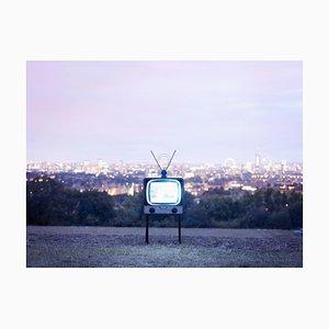 Fernsehapparat 1, Begriffsfotographie, Farbdruck, 2014