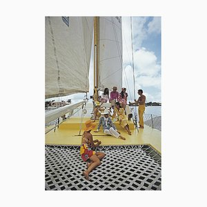 A Colorful Crew, Slim Aarons, Yachten, Fashion Photograph