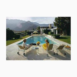 Poolside Paare, Slim Aarons, Poolside Gossip, Glamour, Schwimmbad, Sonne
