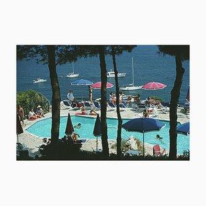 Il Pellicano Hotel Pool, Slim Aarons, 20th Century, Fotografie