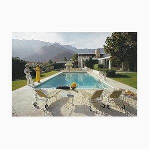 Palm Springs Pool, Slim Aarons, 20. Jahrhundert