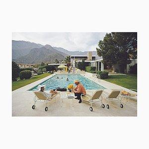 Unterbrechung am Pool, Slim Aarons, 20. Jahrhundert
