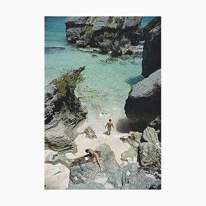 Am Strand von Bermuda, Slim Aarons, 20. Jahrhundert