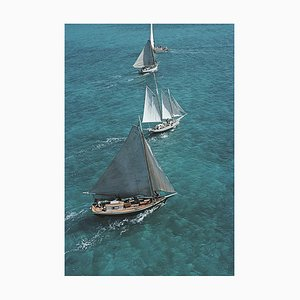 Segeln auf den Bahamas, Slim Aarons, 20. Jahrhundert