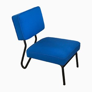 Armless Chair Jacques Hitier for Tubauto, 1952
