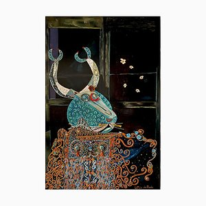 Spanish Contemporary Art, Lioness and the Scorpion by Leticia De Prado