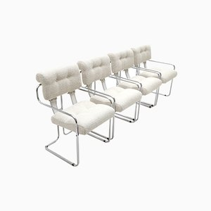 Tucroma Chairs by Guido Faleschini for Mariani, 1970s, Set of 4
