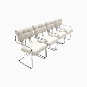 Tucroma Stühle von Guido Faleschini für Mariani, 1970er, 4er Set