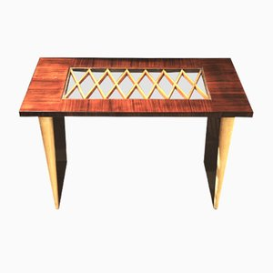Vintage Italian Coffee Table in the Style of Guglielmo Ulrich