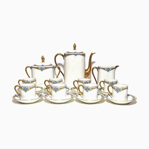 Coffee Limoges Service, Set of 21