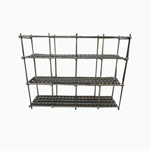 Large Industrial Metal Shelf, 1950-3