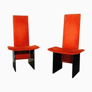 Model Kazuki Side Chairs by Kazuhide Takahama for Gavina, 1960s, Set of 2