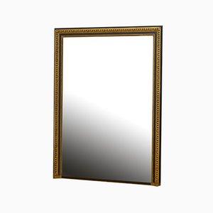 Großer vergoldeter & ebonisierter Spiegel aus dem 19. Jahrhundert