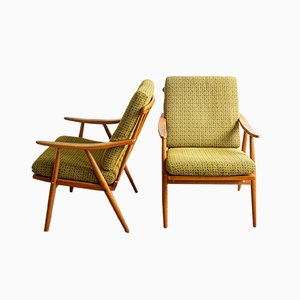 Armchairs by TON, Czech Republic, 1960s, Set of 2