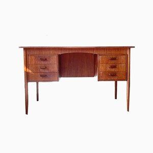 Mid-Century Danish Freestanding Teak Desk by Poul M. Volther, 1960s