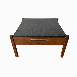 Mid-Century Afromosia & Formica Coffee Table by Guy Rogers