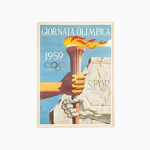 Gironata Olympisches Plakat