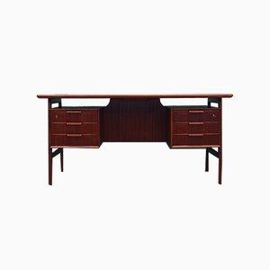 Dänischer Modell Nr. 75 Schreibtisch aus Teak von Omann Jun, 1970er