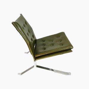 Chaise en Acier Fait Main, 1960s