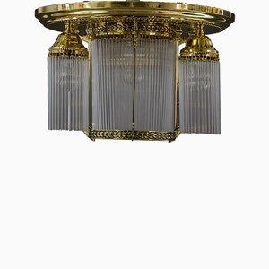 Österreichische Jugendstil Deckenlampe, 1920er