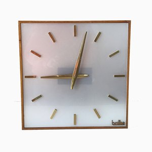 Large Vintage Desk Clock, 1960s