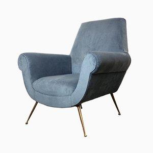 Italienischer Sessel von Gigi Radice für Minotti, 1950er
