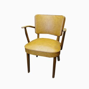 Mid-Century Office Chair with Armrests