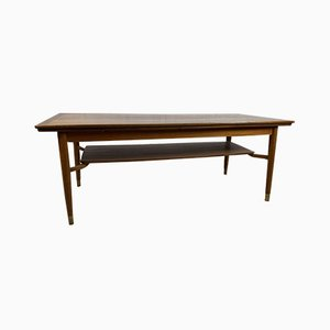 Large Scandinavian Teak Coffee Table