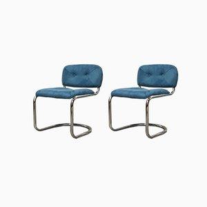Vintage Italian Space Age Lounge Chairs by Mobilgirgi, 1967, Set of 2