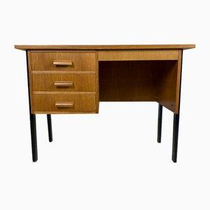 Hölzerner Vintage Schreibtisch, 1960er