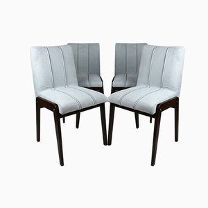 Vintage Aga Chairs by Józef Chierowski, 1970s, Set of 4