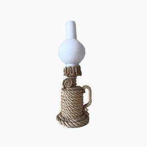Lampe Taube Seil Lampe, 1950er