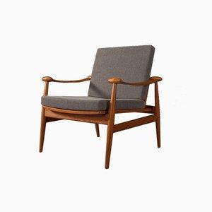 Model 133 Lounge Chair by Finn Juhl for France & Søn / France & Daverkosen, 1960s