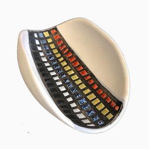 Bolsillo vacío de cerámica de Roger Kapron, años 50