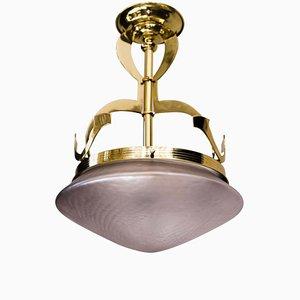 Art Nouveau Ceiling Lamp, 1908
