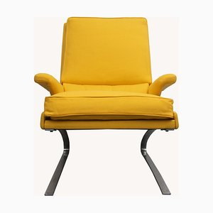 Swing Chair in Gelb von Reinhold Adolf für COR, 1970er
