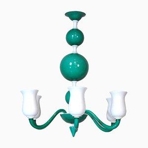 Deckenlampe aus Muranoglas von Paolo Venini, 1950er