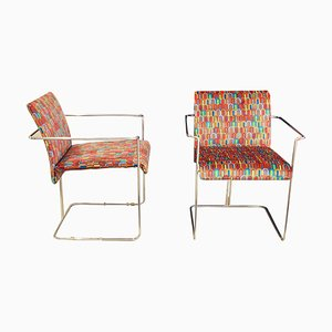 Chairs by Fratelli Saporiti, Italy, 1970s, Set of 4
