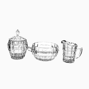 Lobmeyr Glassware by Eduard Wimmer-Wisgrill, 1930s, Set of 3