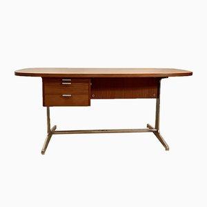 Schreibtisch aus Mahagoni von George Nelson für Mobilier International, 1970er