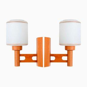 Mid-Century Modern Wandlampen, 2er Set