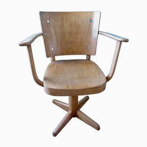 Danish Office Swivel Chair by Magnus Stephensen for Fritz Hansen, 1940s