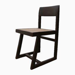Chaise Box Mid-Century par Pierre Jeanneret