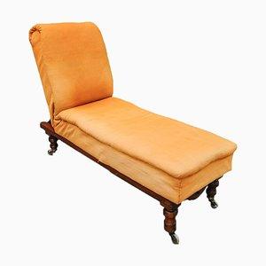 Chaise longue ajustable Literary Machine de John Carter of New Cavendish St London, finales del siglo XIX
