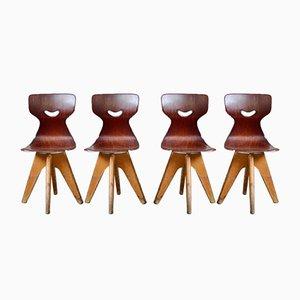 Chaises d'Enfants par Adam Stegner pour Pagholz Flötotto, Set de 2
