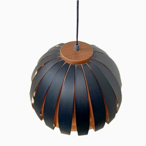 Danish Pendant Lamp by Werner Schou for Coronell Elektro, 1960s